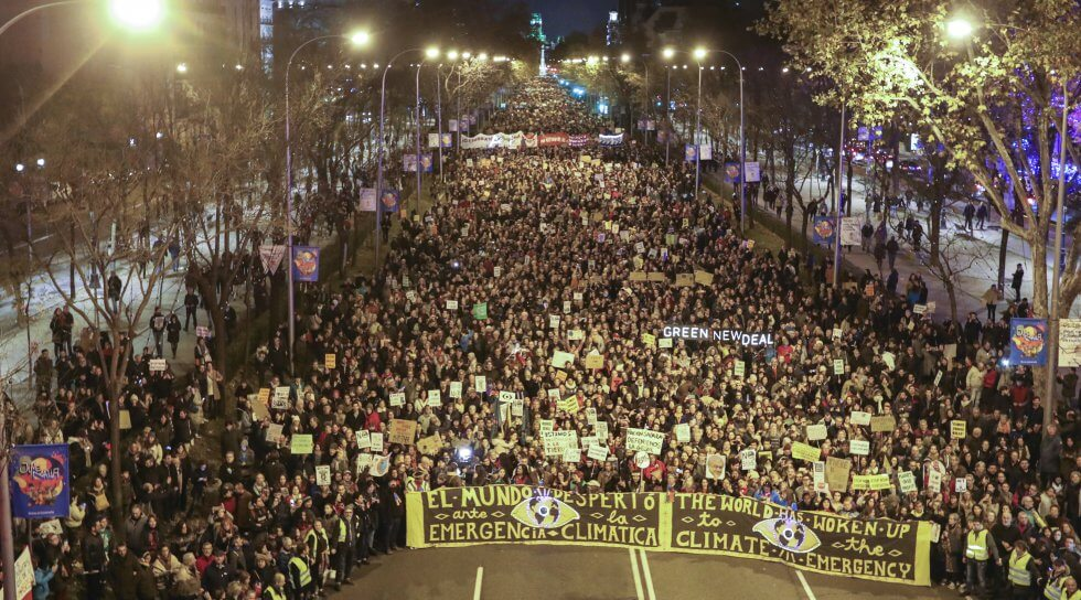 Climate March Madrid 2019