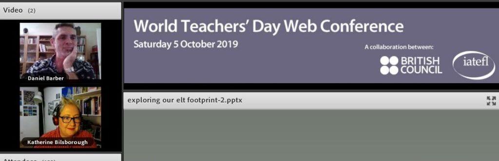 ELT Footprint World Teachers Day Webinar