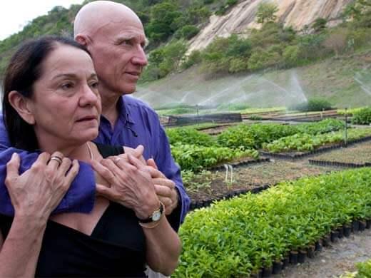 Sebastiao Salgado & Wife Instituto Terra