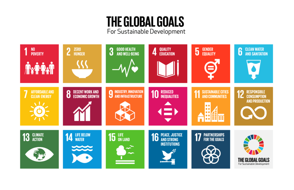 The Global Goals Colour Grid