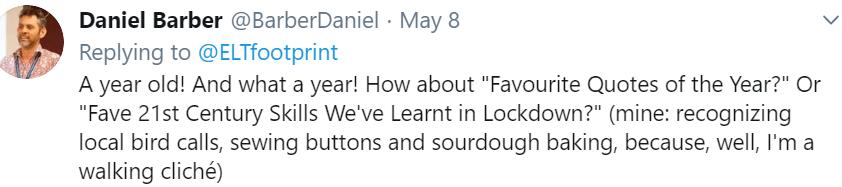 Daniel Barber tweet