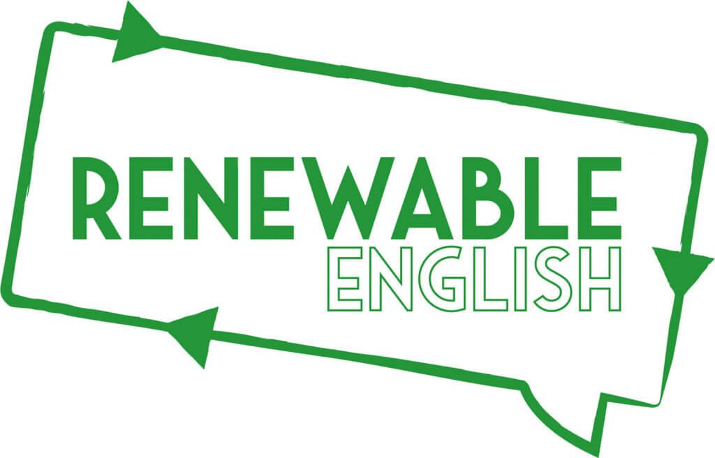 Renewable English logo
